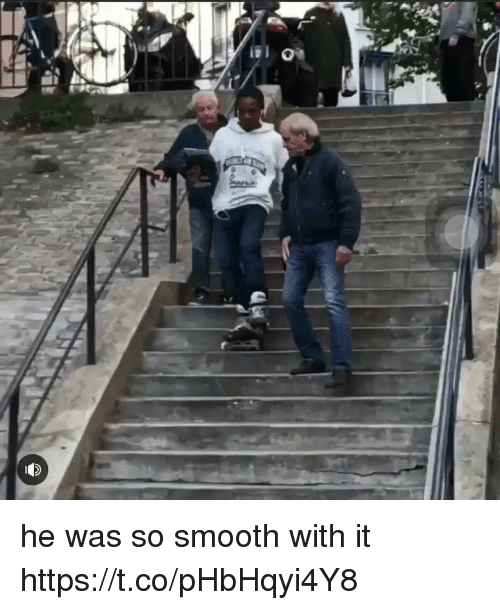 So Smooth: he was so smooth with it https://t.co/pHbHqyi4Y8