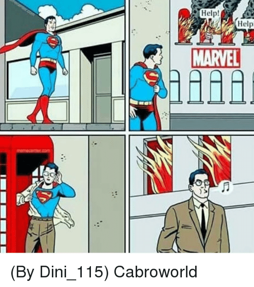 Help and Marvel: Help  MARVEL (By Dini_115) Cabroworld