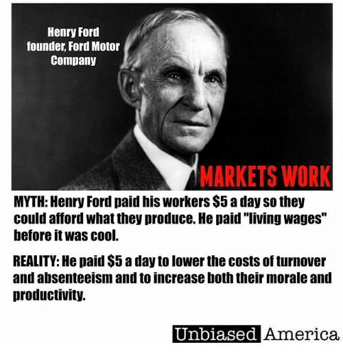 how did henry ford change america American icons, made in america, people, traditions henry ford's ingenuity and acumen left a legacy that reaches far beyond the model t's driver's seat it was a pretty gutsy thing to do with 11 other investors and $28,000 in capital, ford founded the ford motor company on june 16, 1903.