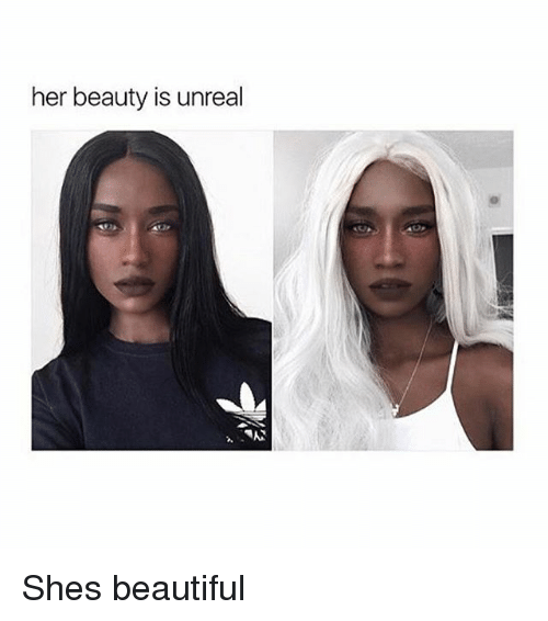 Beautiful, Memes, and 🤖: her beauty is unreal  OP Shes beautiful