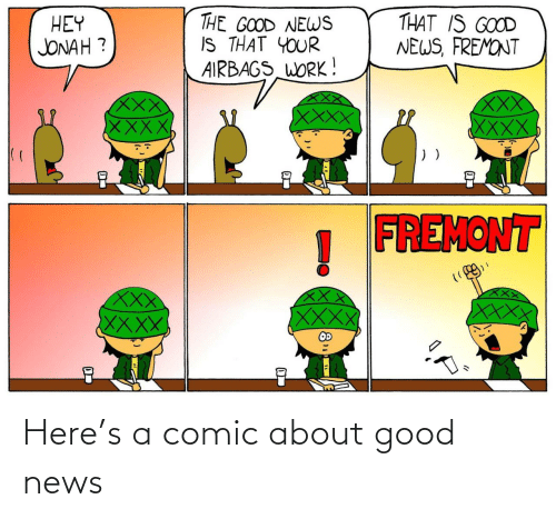 comic: Here's a comic about good news