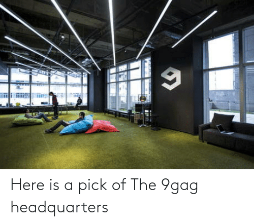 9gag: Here is a pick of The 9gag headquarters