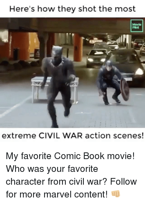 Favorite Character: Here's how they shot the most  Movie  Plot  extreme CIVIL WAR action scenes! My favorite Comic Book movie! Who was your favorite character from civil war? Follow for more marvel content! 👊🏼