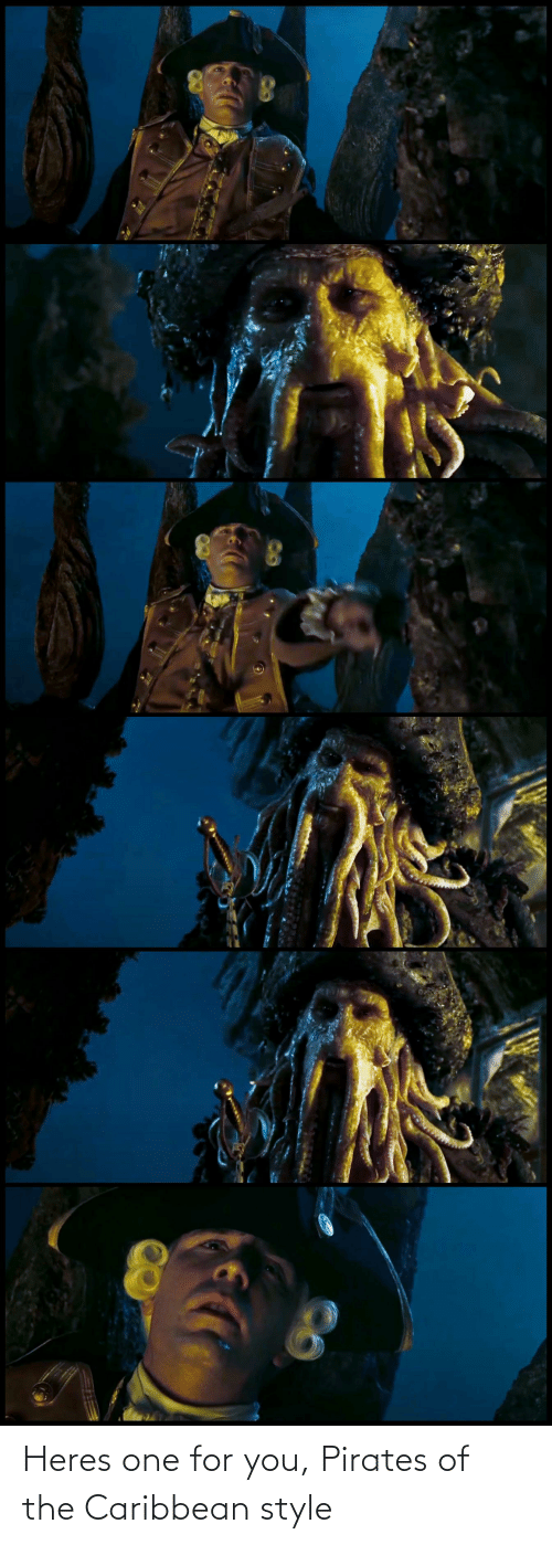 pirates of the caribbean: Heres one for you, Pirates of the Caribbean style