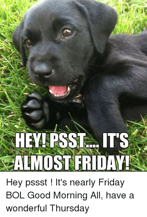 Happy Dance Its Almost Friday Almost Friday Meme On