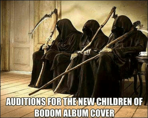 Children, Hex, and Children of Bodom: HEX  AUDITIONS FOR THENEW CHILDREN OF  BODOM ALBUM COVER