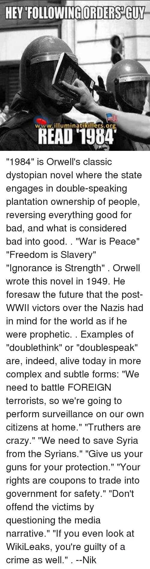doublespeak and real world examples
