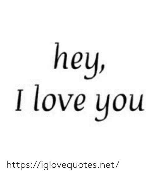 Love, I Love You, and Net: hey,  I love you https://iglovequotes.net/