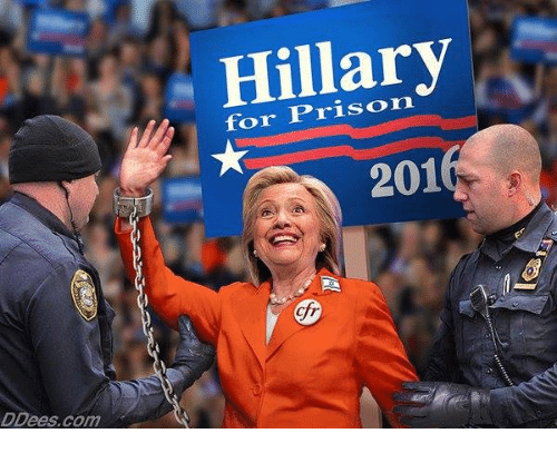 Ctr: Hillary  for Prison  201  cfr  ctr  DDees.com