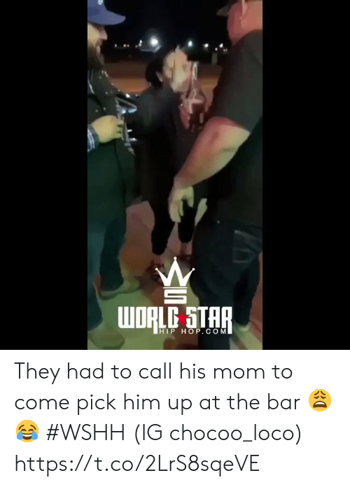 wshh: HIP HOP. CONM They had to call his mom to come pick him up at the bar 😩😂 #WSHH (IG chocoo_loco) https://t.co/2LrS8sqeVE