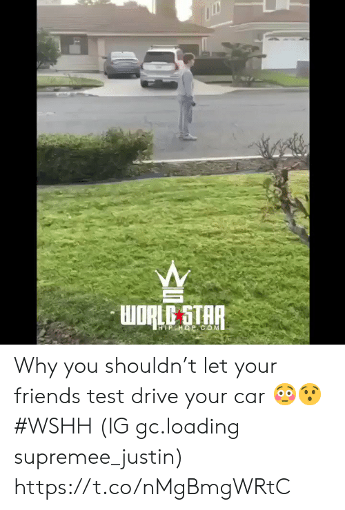 wshh: HIPHOP COM Why you shouldn't let your friends test drive your car 😳😯 #WSHH (IG gc.loading supremee_justin) https://t.co/nMgBmgWRtC