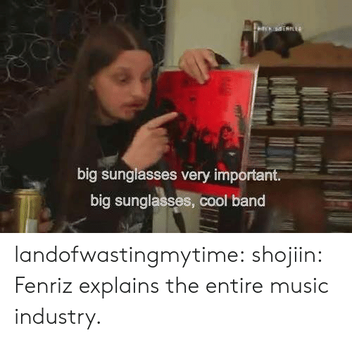Albums: HLK EERIE4  big sunglasses very important.  big sunglasses, cool band landofwastingmytime:  shojiin:  Fenriz explains the entire music industry.