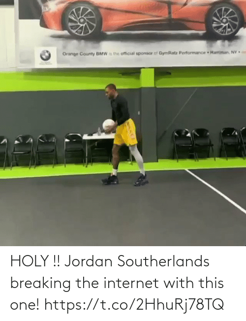 the internet: HOLY !! Jordan Southerlands breaking the internet with this one! https://t.co/2HhuRj78TQ