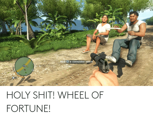 wheel: HOLY SHIT! WHEEL OF FORTUNE!