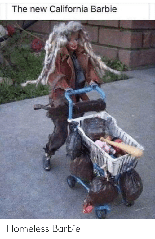 Barbie: Homeless Barbie