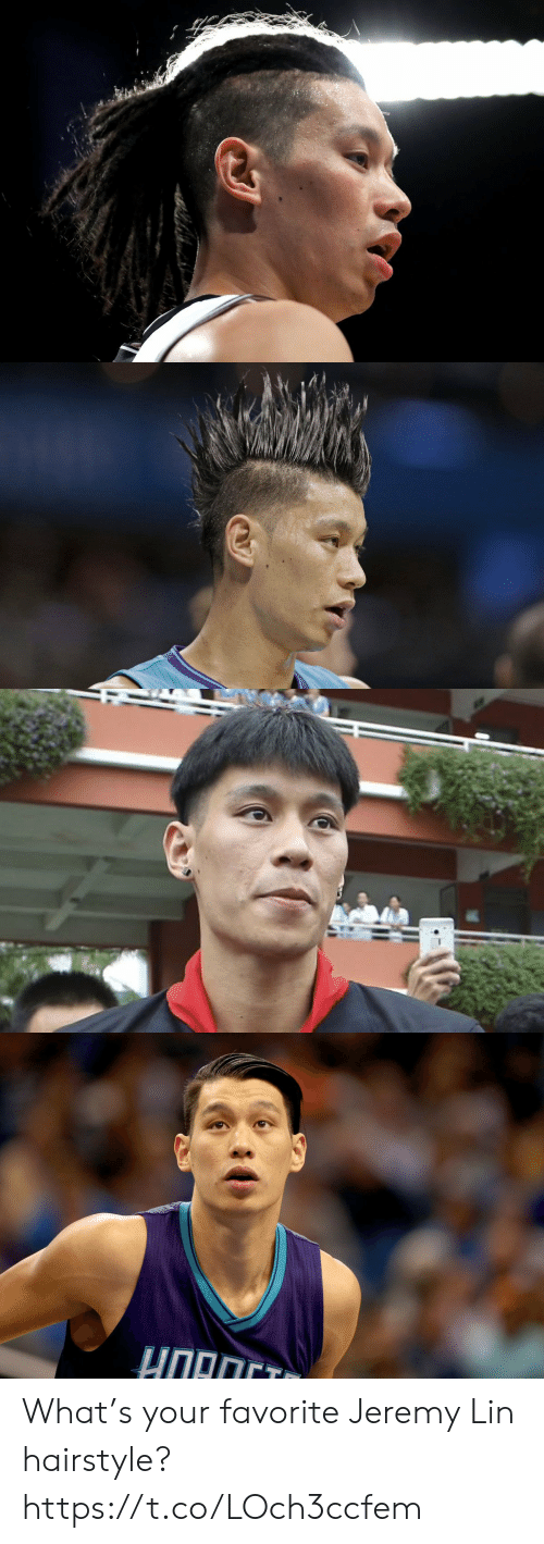 Jeremy Lin: HORCT What's your favorite Jeremy Lin hairstyle? https://t.co/LOch3ccfem