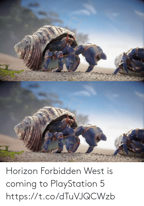 coming: Horizon Forbidden West is coming to PlayStation 5 https://t.co/dTuVJQCWzb