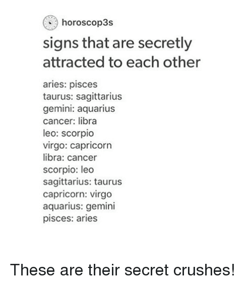 Horoscop3s Signs That Are Secretly Attracted to Each Other