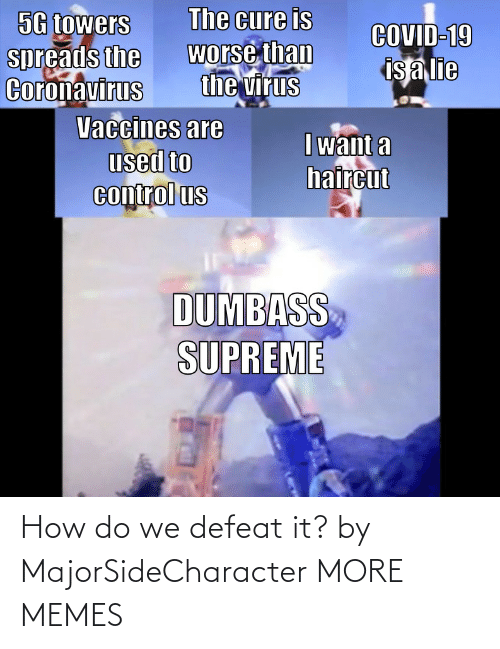 How Do: How do we defeat it? by MajorSideCharacter MORE MEMES