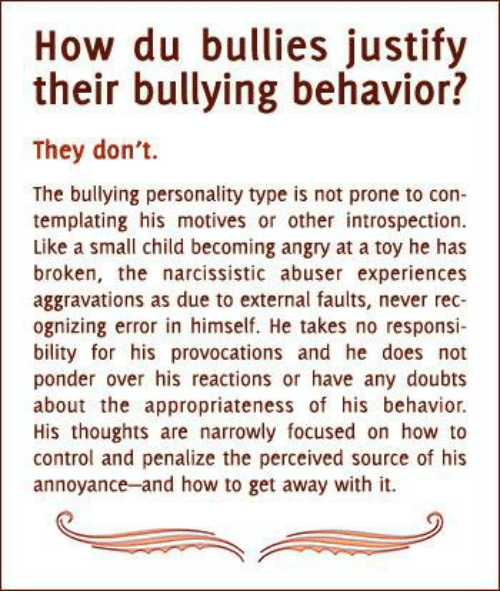 how bullying affects personality Bullying at school affects academic achievement since bullied children feel fear and weak and in the same time it affects students' personality traits and self-confidence therefore such situation makes bullied students unable to.