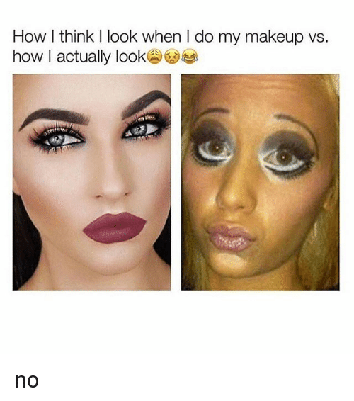 Makeup, Black Twitter, and How: How I think I look when I do