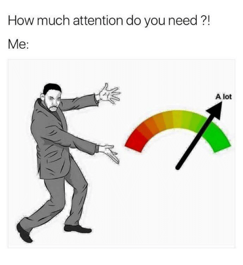 Attentation: How much attention do you need  Me  A lot