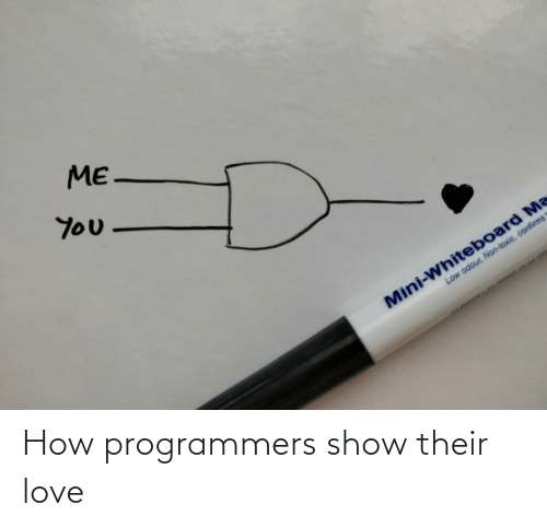 Love: How programmers show their love