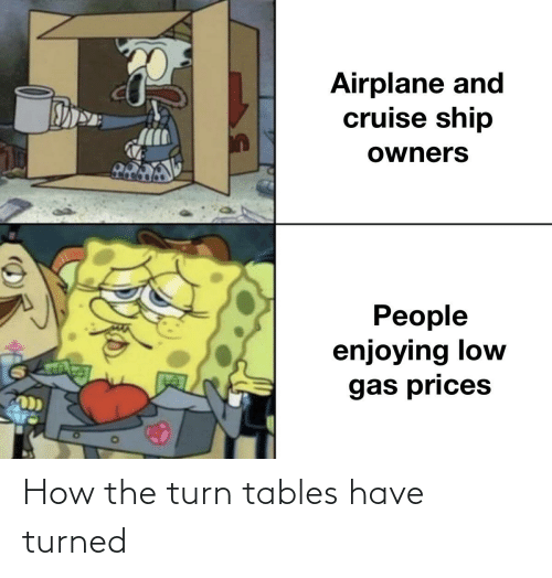 tables: How the turn tables have turned
