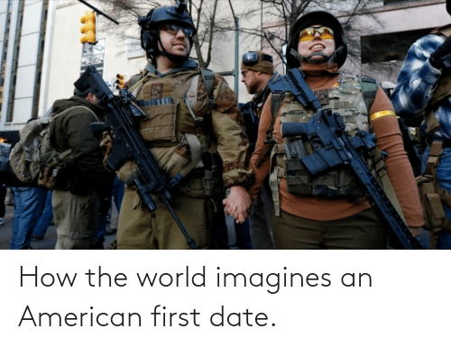 first date: How the world imagines an American first date.
