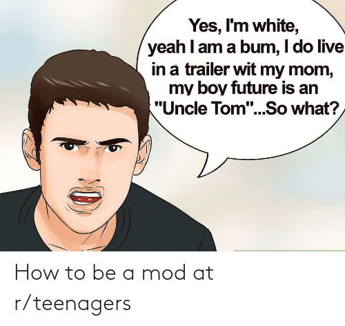 R Teenagers: How to be a mod at r/teenagers