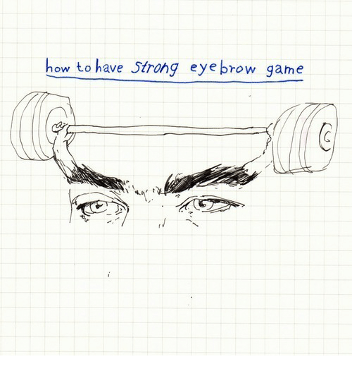 Game, How To, and How: how to have Strohg eyebrow game