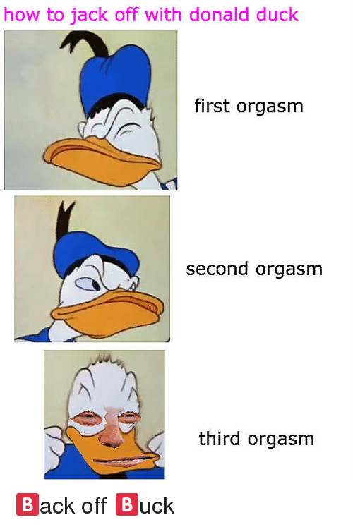 Donald Duck Orgasm By Robin Williams