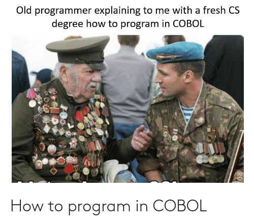 How To: How to program in COBOL
