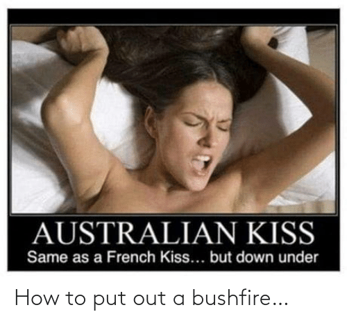 How To: How to put out a bushfire…