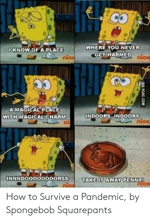 Survive: How to Survive a Pandemic, by Spongebob Squarepants