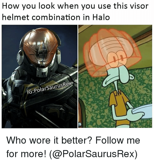 how you look when you use this visor helmet combination 12562113 ✅ 25 best memes about visor visor memes