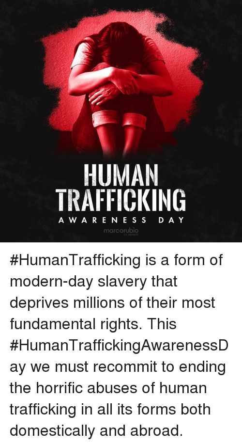 the issue of human trafficking as a form of modern slavery Unodc report on human trafficking exposes modern form of slavery according to the report, the most common form of human trafficking (79%) is sexual exploitation.