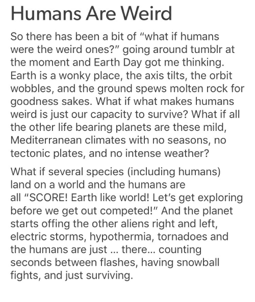 what if humans are weird tumblr - 500×593