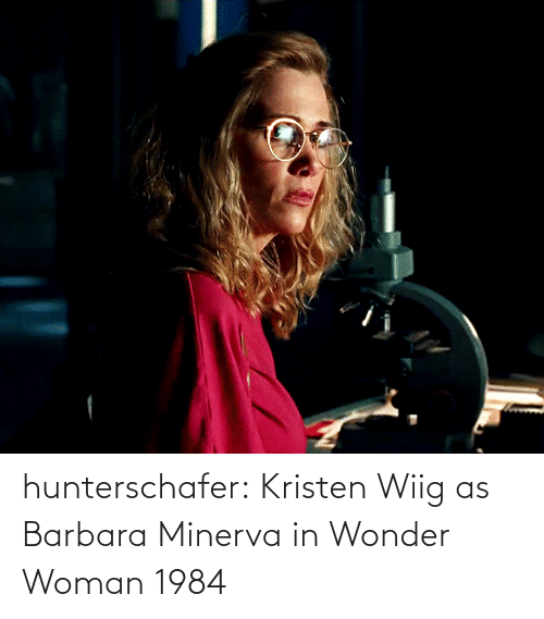 href: hunterschafer:  Kristen Wiig as Barbara Minerva in Wonder Woman 1984
