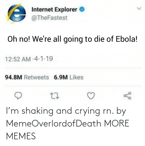 Hilarious: I'm shaking and crying rn. by MemeOverlordofDeath MORE MEMES