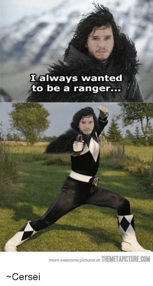 Themetapictures: I always wanted  to be a ranger...  more awesome at THEMETAPICTURE.COM  pictures ~Cersei