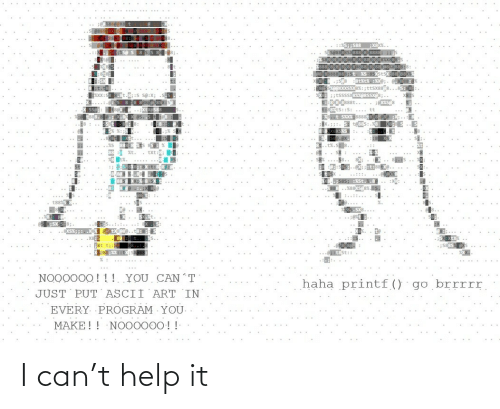 Help: I can't help it