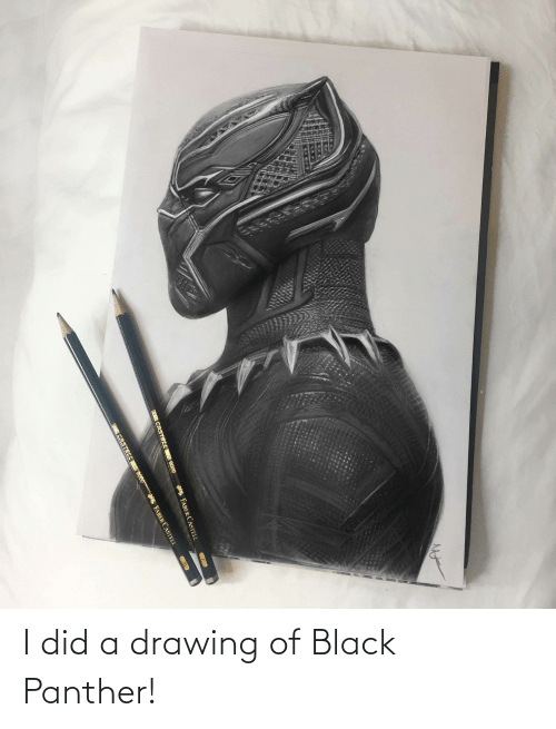 Black Panther: I did a drawing of Black Panther!