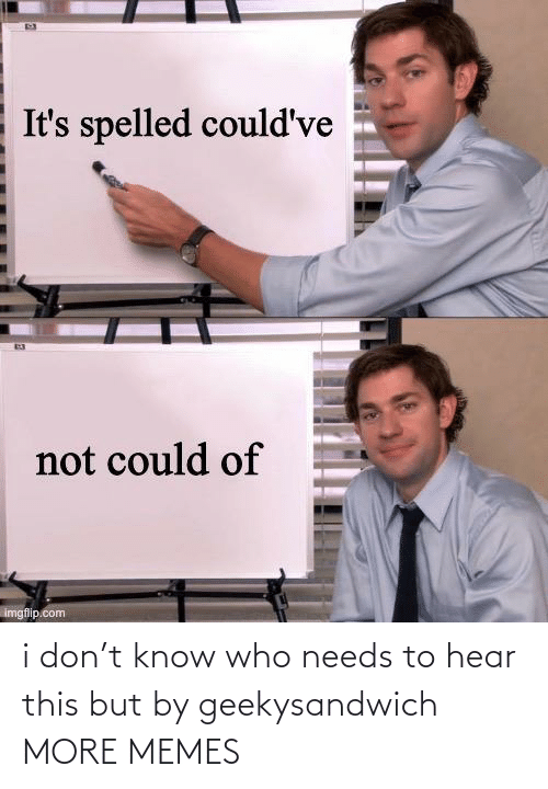 Know Who: i don't know who needs to hear this but by geekysandwich MORE MEMES