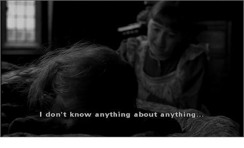 I Dont Know, Anything, and  Know: I don't know anything about anything..