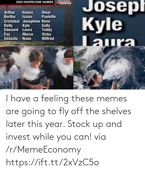 fly: I have a feeling these memes are going to fly off the shelves later this year. Stock up and invest while you can! via /r/MemeEconomy https://ift.tt/2xVzC5o