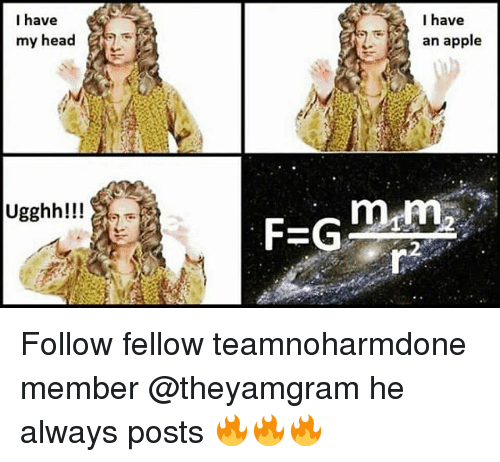 Appling: I have  my head  Ugghh!!!  I have  an apple  mtm  FEG Follow fellow teamnoharmdone member @theyamgram he always posts 🔥🔥🔥