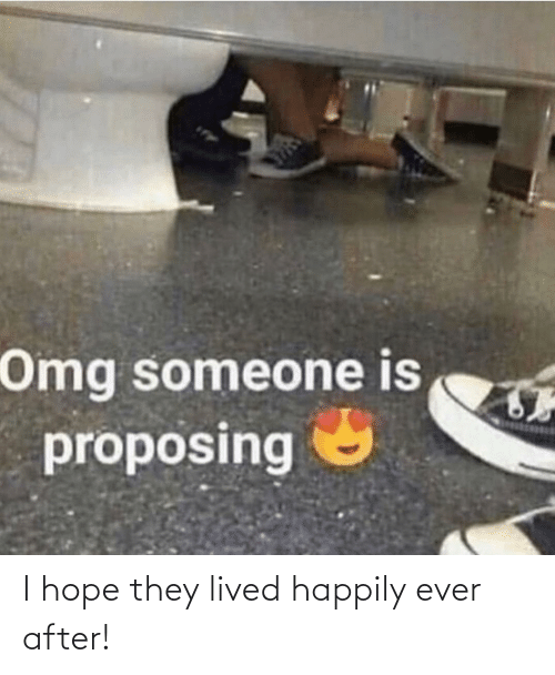 Happily Ever After: I hope they lived happily ever after!