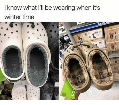 Winter, Time, and What: I know what I'll be wearing when it's  winter time
