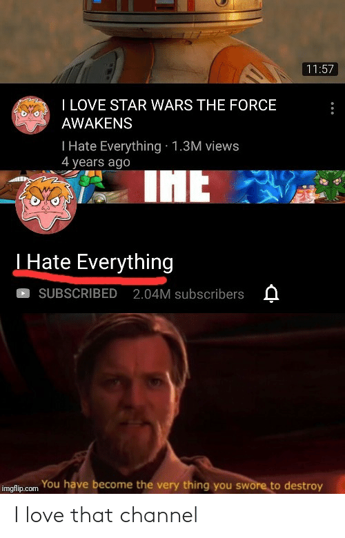 That: I love that channel